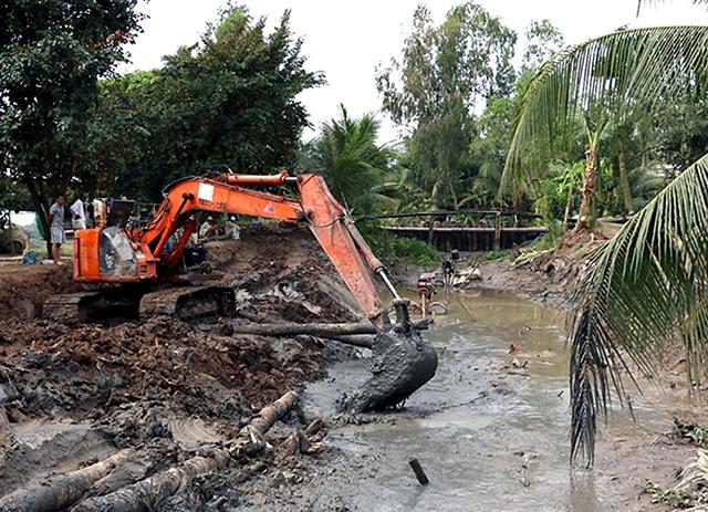Các tỉnh đồng bằng sông Cửu Long chủ động đối phó khô hạn, xâm nhập mặn