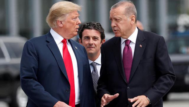 Ông Trump dọa ''tàn phá'' kinh tế Thổ Nhĩ Kỳ vì vấn đề Syria