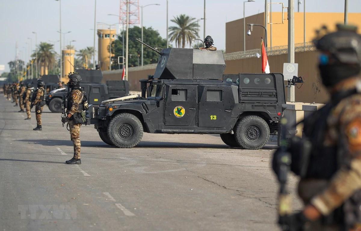 Iraq lên tiếng về vụ bắn rocket vào Đại sứ quán Mỹ ở Baghdad
