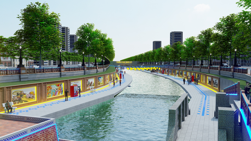 JVE Group - Doanh nghiệp muốn biến sông Tô Lịch thành...